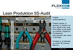 Lean Produktion - 5S audit skema