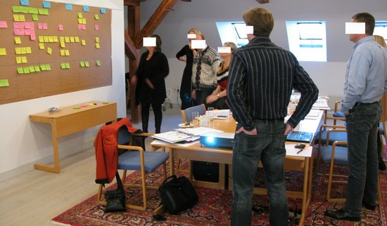 Lean ledergruppe workshop